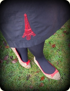Eiffel Tower Embroidery