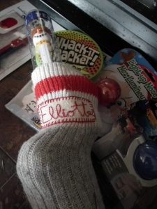 Homemade Christmas Stocking