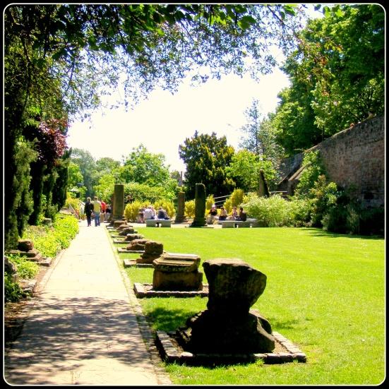 The Roman Garden, Chester