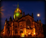 Memories of Edinburgh-St. Giles Cathedral