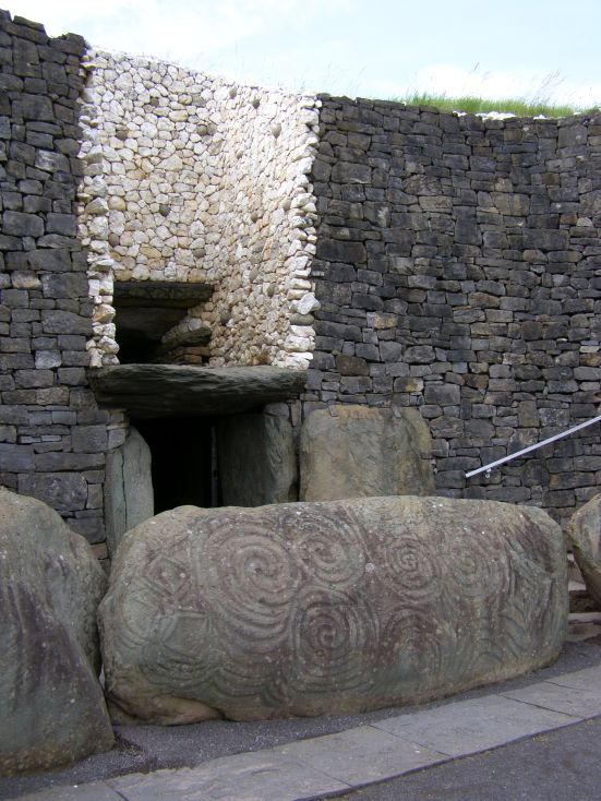 Newgrange Passage Tomb, County Meath Ireland