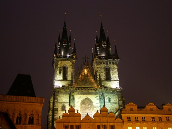 Church of Our Lady before Týn - Prague, Czech Republic
