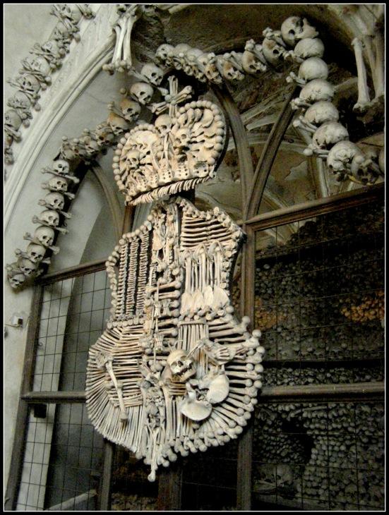 Schwarzenberg Crest - Sedlec Ossuary, Czech Republic