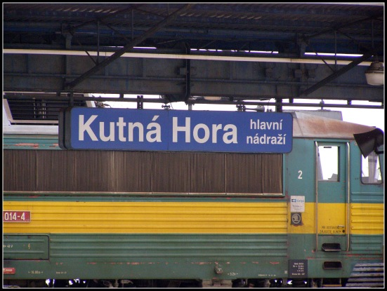Kutna Hora Train Station - Czech Republic