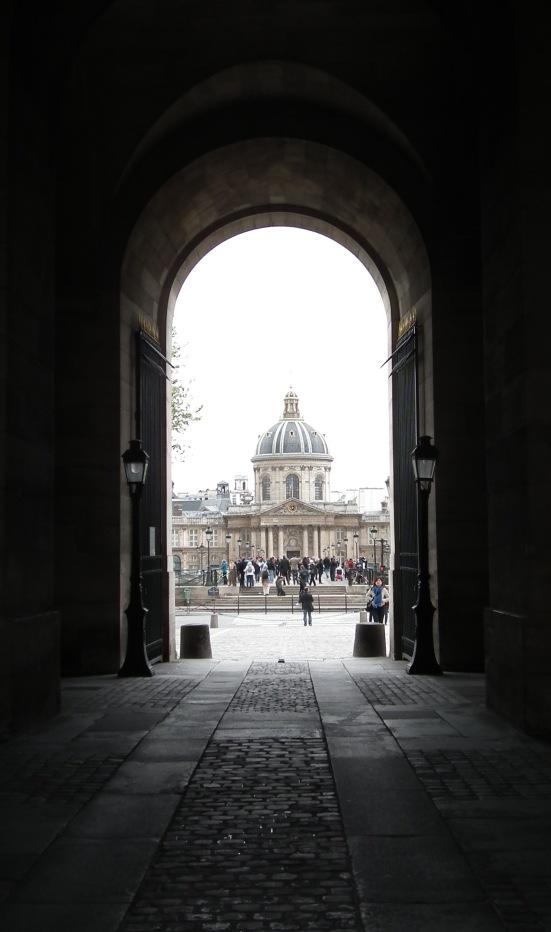 Institut de France from the Musée du Louvre