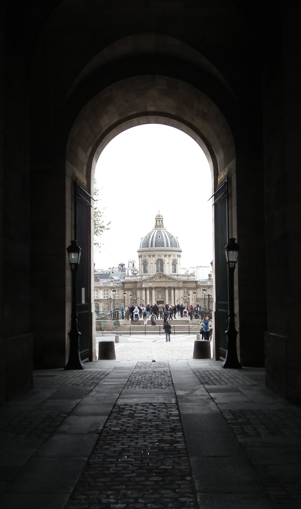 Institut de France from the Musée du Louvre