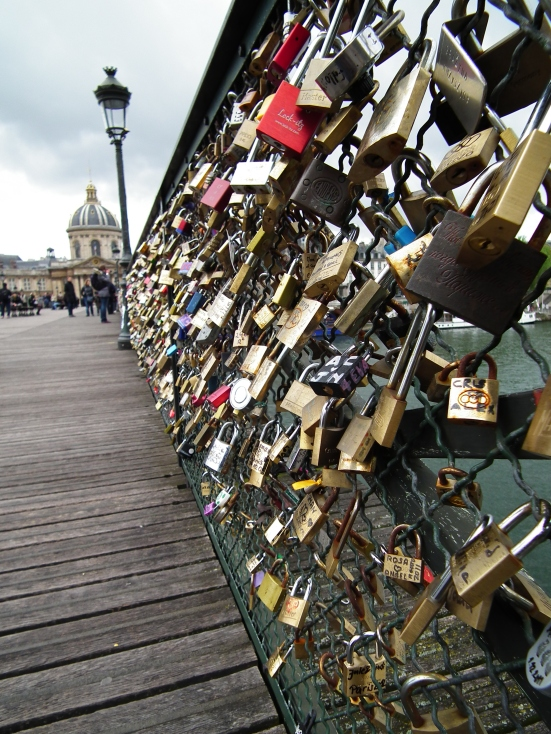 Love Locks - Pont des Arts, Paris