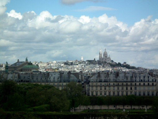 Basilique du Sacré-Coeur from the Musée d'Orsay - Paris, France