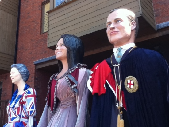 Royal Giants in Chester