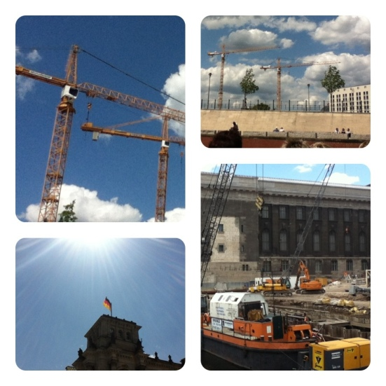 Construction in Berlin Germany