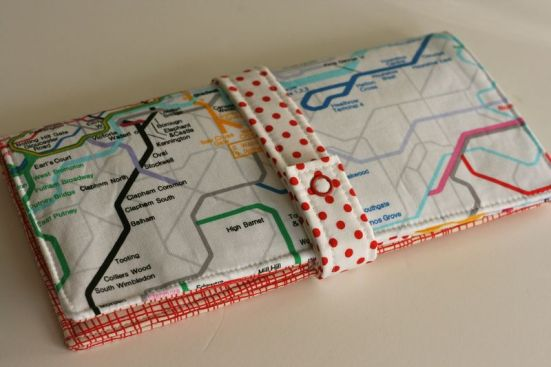 Family Passport Wallet by One Shabby Chick