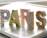 Travel Craft Alert! Map craft ideas for yourhome