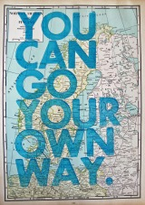 You Can Go Your Own Way…..