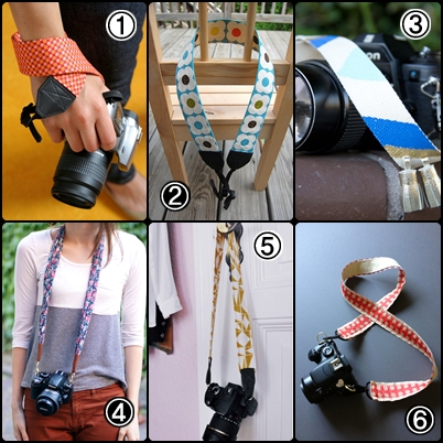 DIY Camera Strap Ideas